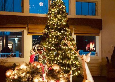 Brownway Residence during Christmas
